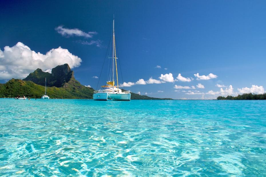 Polinesia in barca