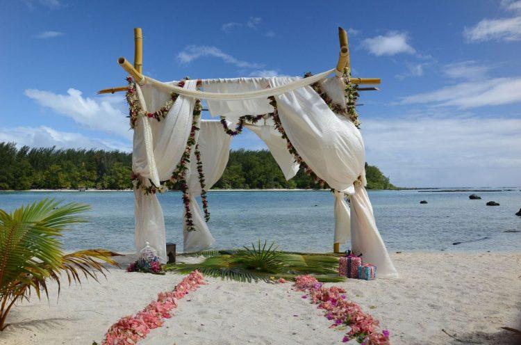 Nozze in Polinesia