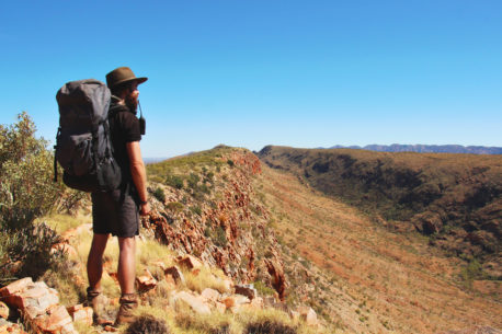 Trekking sul Larapinta Trail