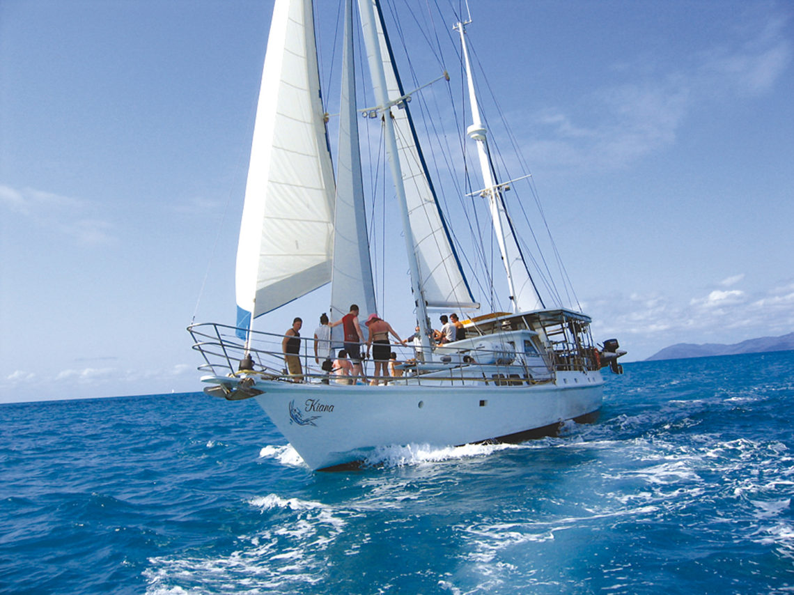 Whitsunday in barca