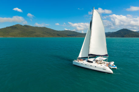 isole Whitsunday in catamarano