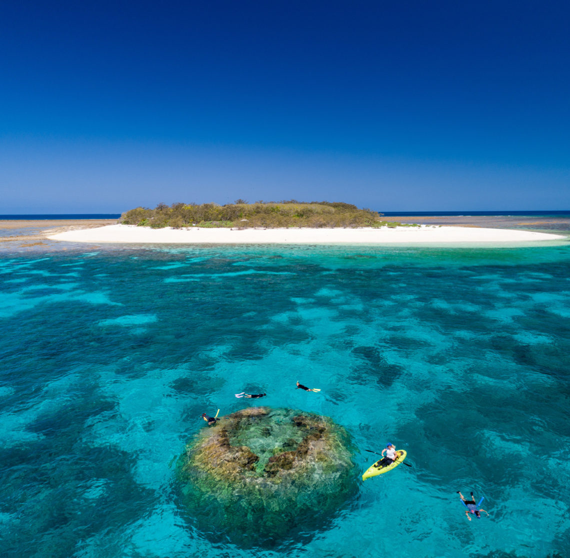 glamping a Wilson island
