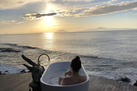 Tasmania vista dal mare